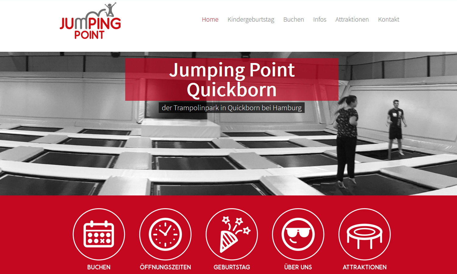 Webseiten Jumping Point